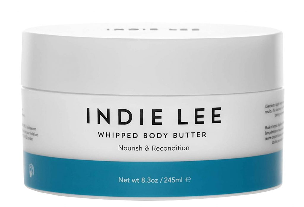 clean beauty products: indie lee whipped body butter